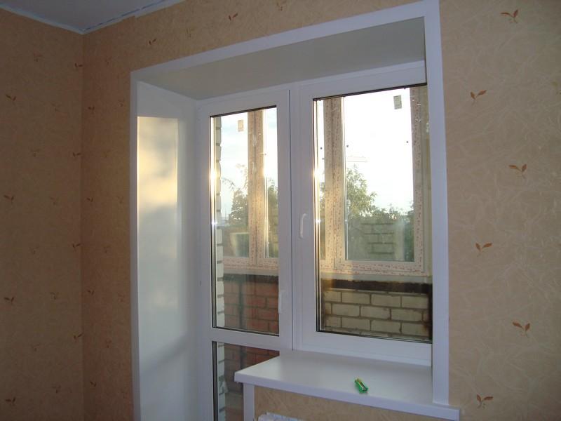 Наши работы. установленные окна и откосы.